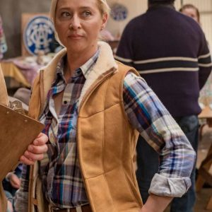 Angela Rams 2020 Suede Leather Asher Keddie Vest
