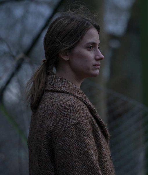 Danica Curcic Equinox 2020 Coat Astrid Tweed Coat