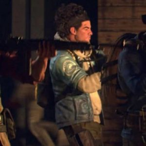 Video Game Back 4 Blood 2020 Leather Jacket