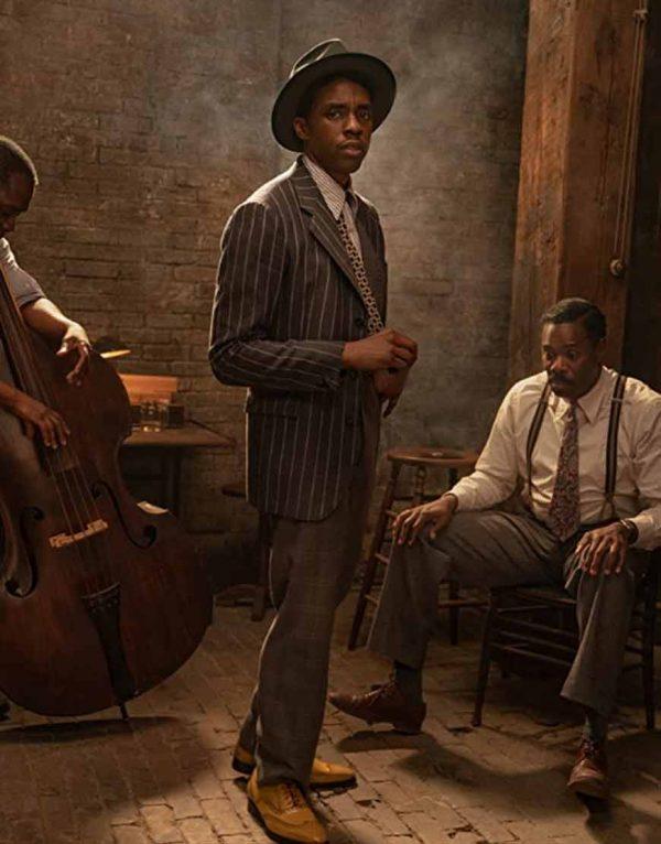 Chadwick Boseman Ma Rainey's Black Bottom Levee Suit For Men's