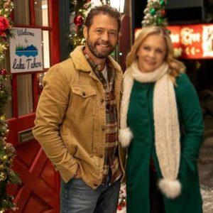 Chris Massey Dear Christmas Jason Priestley Fur Collar Jacket