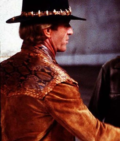 Crocodile Dundee Paul Hogan Leather Jacket
