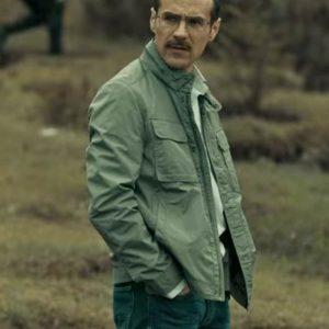 Esteban Dark Desire Erik Hayser Grey Cotton Jacket