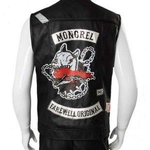 St. John Road Captain Black Leather Vest