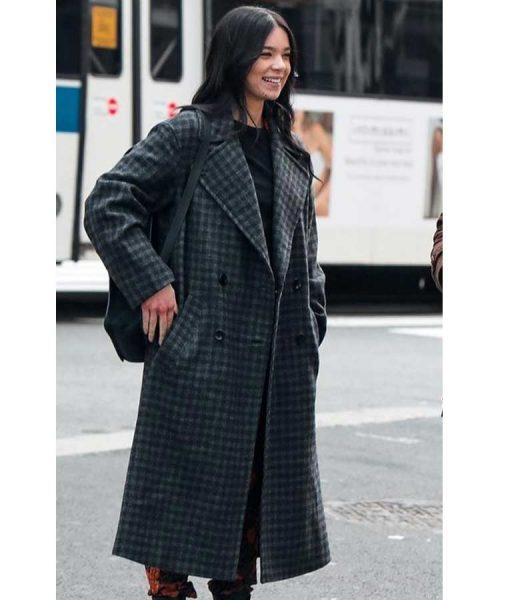 Kate Bishop Hawkeye Hailee Steinfeld Checkered Coat