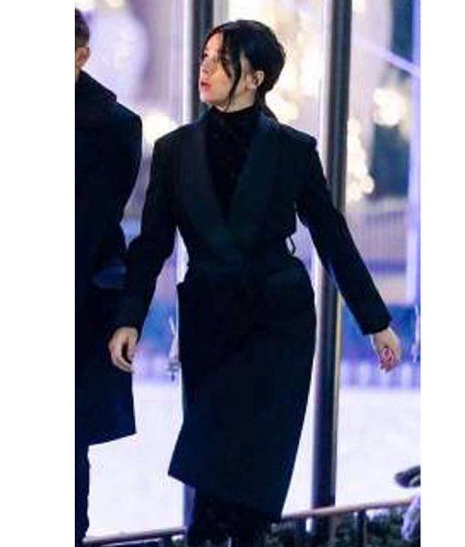 Kate Bishop Hawkeye 2021 Hailee Steinfeld Blue Trench Coat