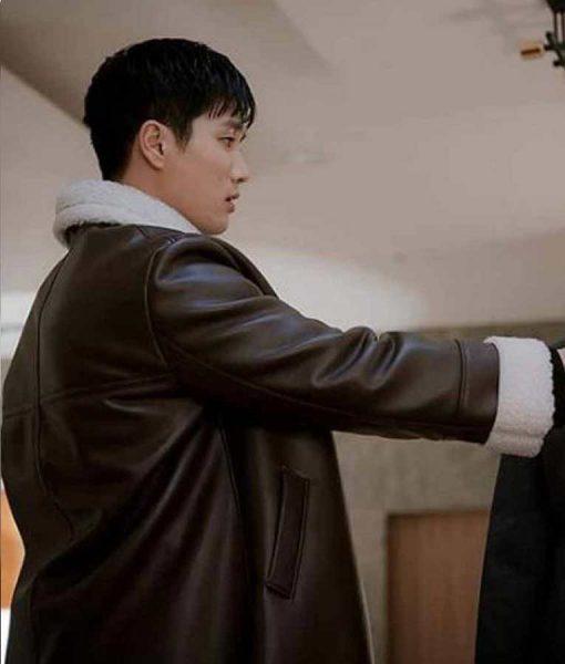 Itaewon Class Ahn Bo-Hyun Leather Coat