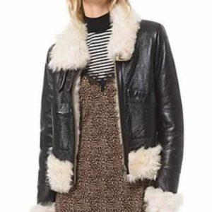 Itaewon Class Kim Da-Mi Leather Jacket Jo Yi Seo Black Leather Jacket
