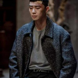 Park Seo-Joon Itaewon Class Park Sae Ro Yi Grey Trench Coat