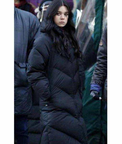 Hawkeye Kate Bishop Puffer Coat Hailee Steinfeld Hawkeye 2021 Puffer Coat