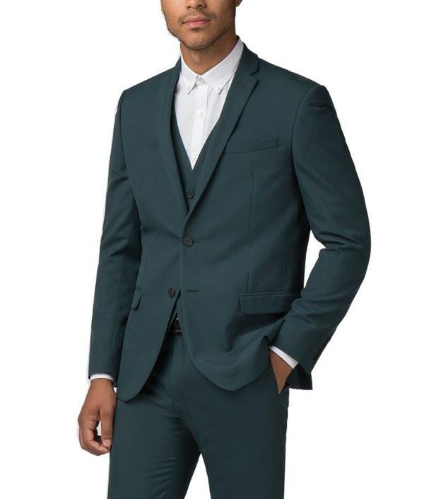 Tom Ellis Morningstar Green Suit