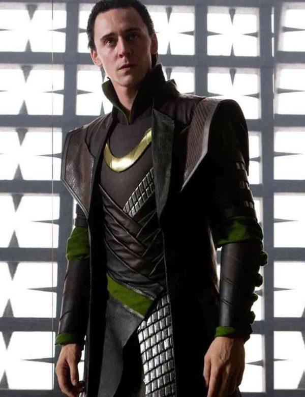 Tom Hiddleston Loki Trench Coat