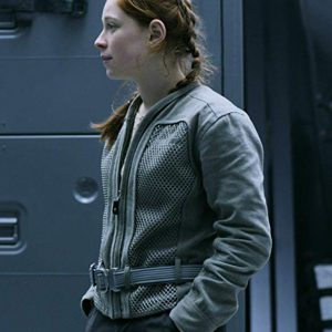Penny Robinson Lost In Space Mina Sundwall Cotton Jacket