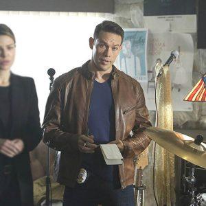 TV-Series Lucifer Dan Espinoza Brown Jacket