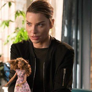 Lauren German TV-Series Lucifer Season 03 Chloe Decker Bomber Jacket