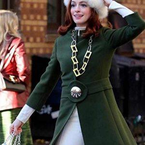 Lexi Modern Love Anne Hathaway Green Coat