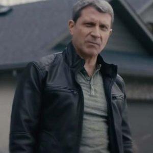 Paul Essiembre Nobody Jim Black Leather Jacket