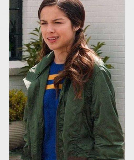 High School Musical S02 Nini Green Jacket