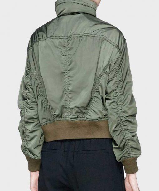 Olivia Rodrigo High School Musical S02 Jacket Nini Green Bomber Jacket