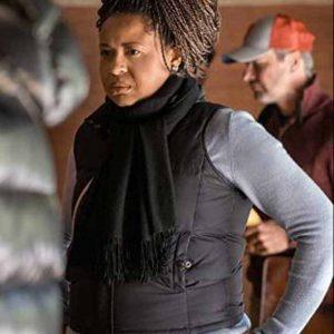 Writer Power Book II Ghost Courtney A. Kemp Black Puffer Vest