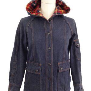 Gaten Matarazzo Stranger Things Dustin Henderson Hooded Denim Jacket