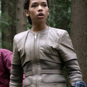 Judy Robinson TV-Series Lost In Space Taylor Russell Leather Jacket