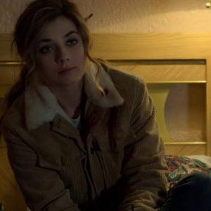 Giorgia Whigham The Punisher 2 Amy Bendix Corduroy Shearling Jacket