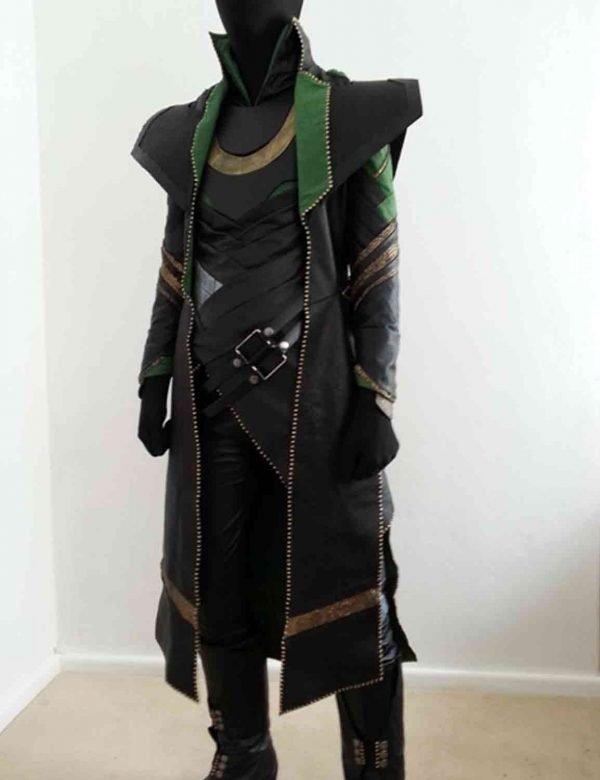Long Trench Loki Leather Coat