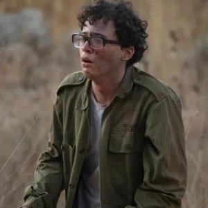 Avinoam Shapira Valley of Tears Shahar Tavoch Green Cotton Jacket