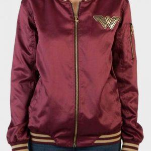 Wonder Woman Varsity Jacket