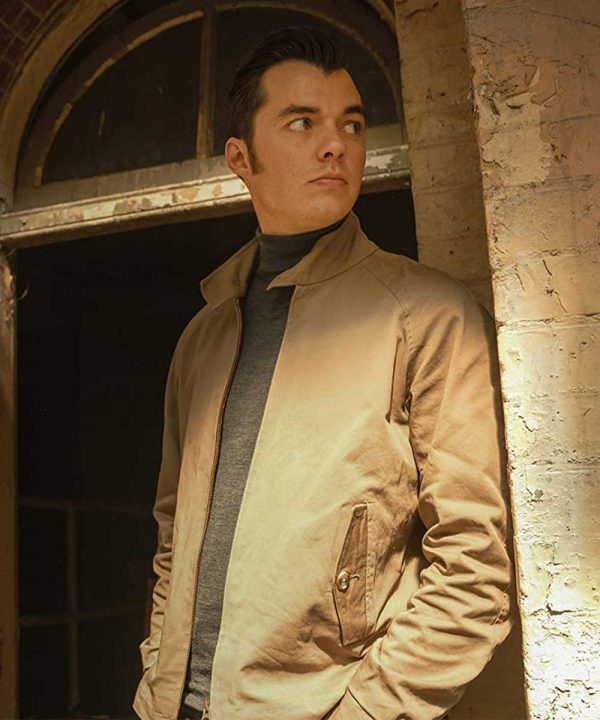 Alfred Pennyworth TV Series Pennyworth Jack Bannon Brown Cotton Jacket