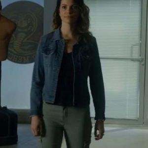 Amanda LaRusso Cobra Kai Courtney Henggeler Blue Denim Jacket