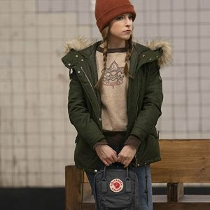 Anna Kendrick Love Life Olive Green Darby Parka Jacket