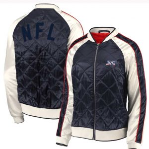Erin Andrews Quilted Bomber Jacket