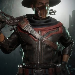 Erron Black Video Game Mortal Kombat 11 Leather Jacket