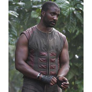 Eme Ikwuakor TV Series Inhumans Gorgon Leather Vest
