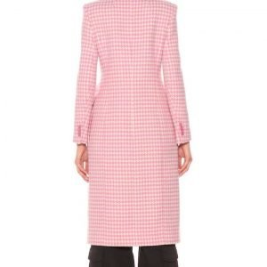 Younger S07 Kelsey Peters Checkered Coat