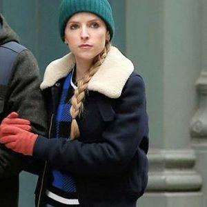 Darby Carter TV Series Love Life Anna Kendrick Shearling Collar Jacket