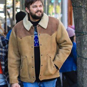 Nick Thune TV Series Love Life Brown Leather Magnus Jacket