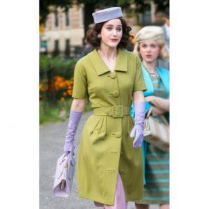 The Marvelous Mrs Maisel Green Coat