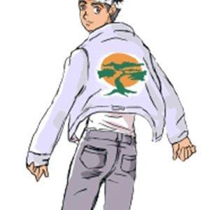 Karate Kid Cobra Kai Miyagi Do White Leather Jacket