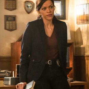 Detective Karen Hart Nancy Drew Alvina August Black Blazer Coat