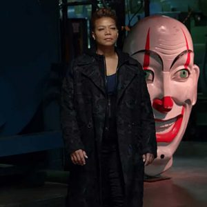 Queen Latifah The Equalizer 2021 Robyn McCall Trench Black Coat