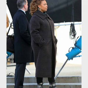 Queen Latifah The Equalizer Robyn McCall Black Long Coat