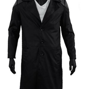 Karl Urban The Boys Billy Butcher Black Leather Trench Coat