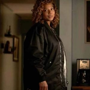 Robyn McCall The Equalizer 2021 Black Bomber Queen Latifah Jacket