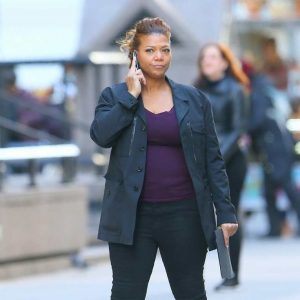 Queen Latifah The Equalizer 2021 Robyn McCall Black Jacket