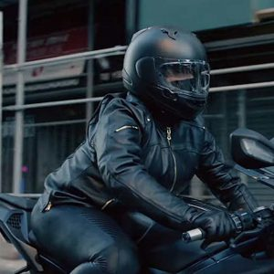Queen Latifah The Equalizer 2021 Robyn McCall Motorcycle Black Leather Jacket