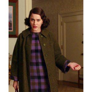 Rachel Brosnahan The Marvelous Mrs Maisel Miriam Maisel Black Coat