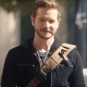 Conrad Hawkins TV Series The Resident S04 Matt Czuchry Black Cotton Jacket